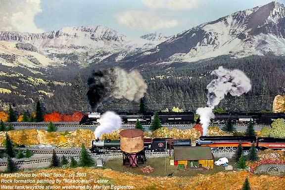 Scenery wallpaper model train wallpaper scenery - Model railroad backdrops ...